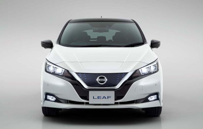 Foto Exteriores (1) Nissan Leaf Dos Volumenes 2018