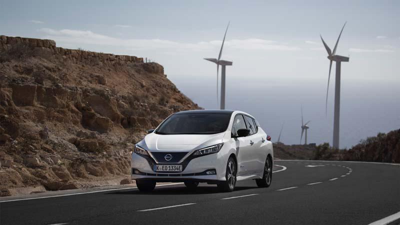 Nissan Leaf 40 KWh 2018, foto delantera