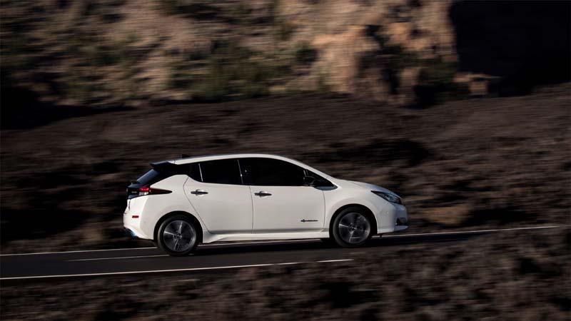 Foto Exteriores Nissan Leaf Dos Volumenes 2018