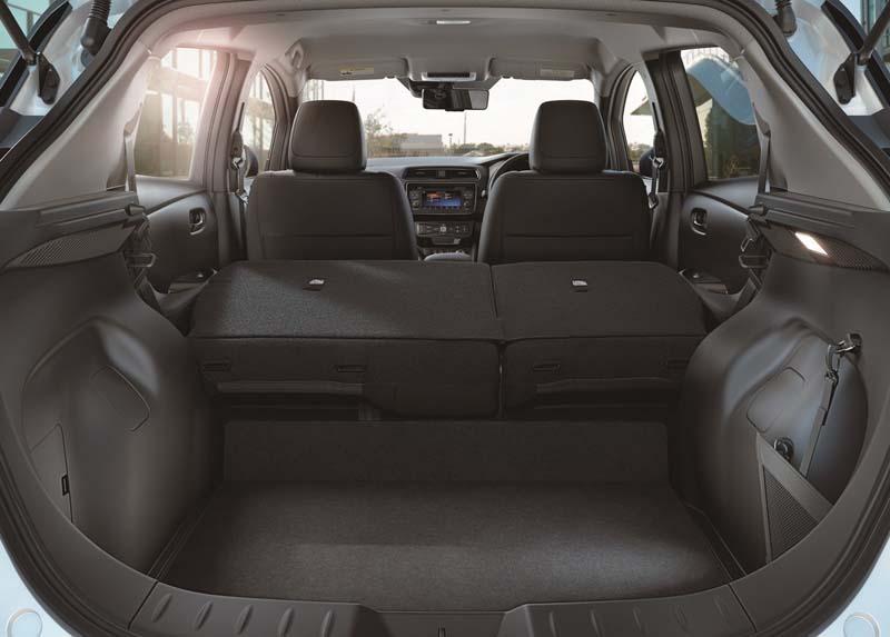 Foto Interiores Nissan Leaf Dos Volumenes 2018