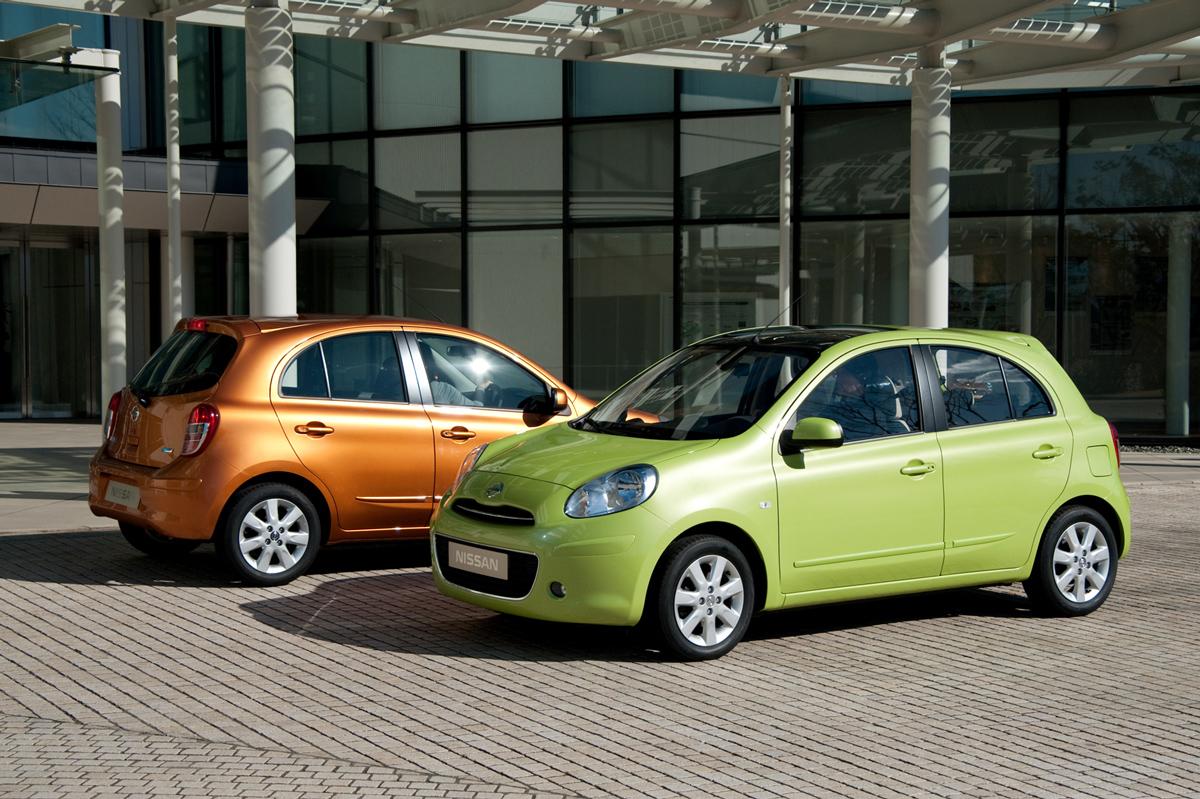 Nissan Micra en el Salón de París 2010