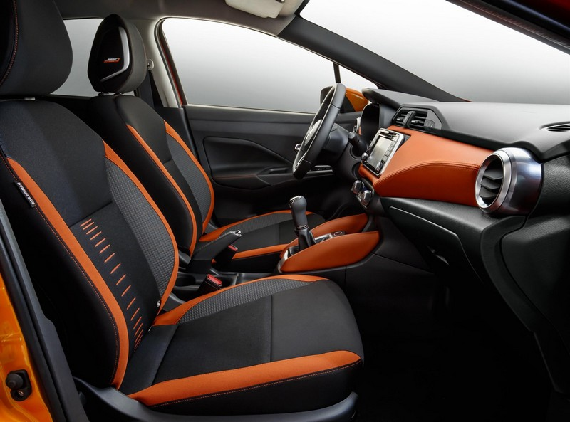 Foto Interiores Nissan Micra Dos Volumenes 2017