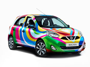 Foto Delantera Nissan Micra-agatha-ruiz-de-la-prada Dos Volumenes 2013