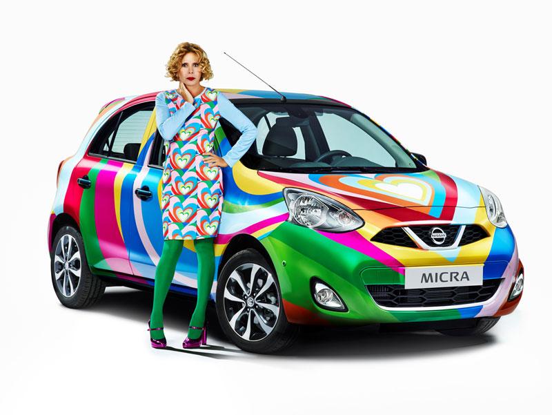 Foto Exteriores Nissan Micra Agatha Ruiz De La Prada Dos Volumenes 2013