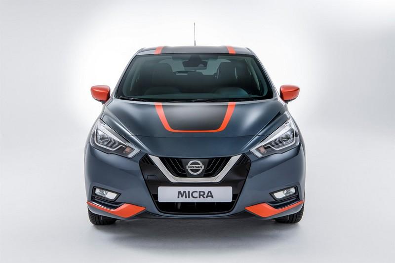 Foto Delantera Nissan Micra Bose Personal Edition Dos Volumenes 2017