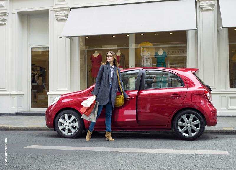 Nissan Micra Elle en el Salón del Automóvil de París 2012