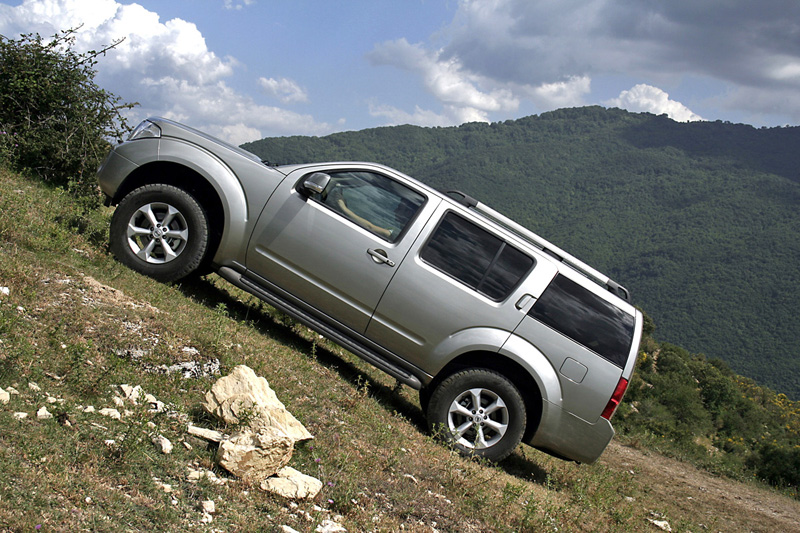 Foto Perfil Nissan Pathfinder Suv Todocamino 2008