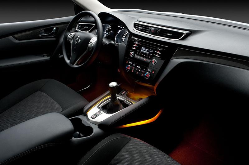 Foto Interiores Nissan Qashqai Suv Todocamino 2014