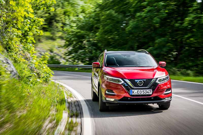 Nissan Qashqai 2017, foto delantera