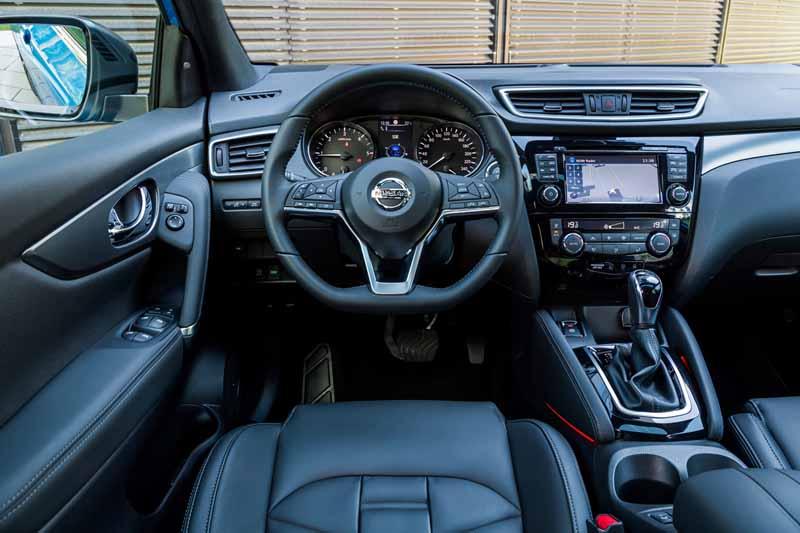 Foto Interiores Nissan Qashqai Suv Todocamino 2017