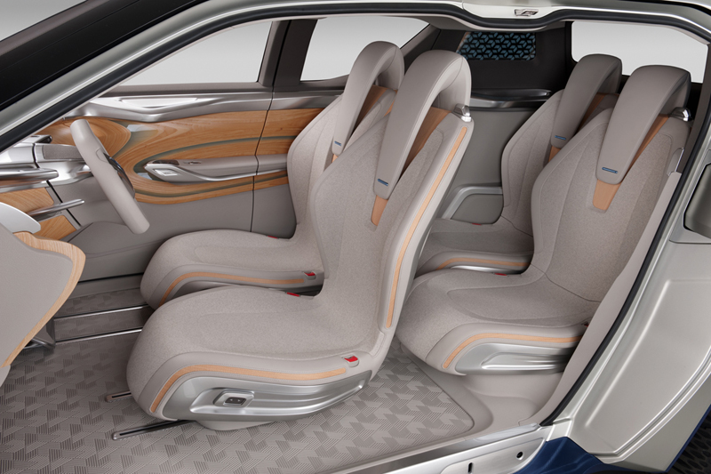 Foto Interiores Nissan Terra Suv Todocamino 2012