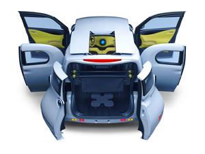 Foto Detalles-(10) Nissan Townpod Concept 2010