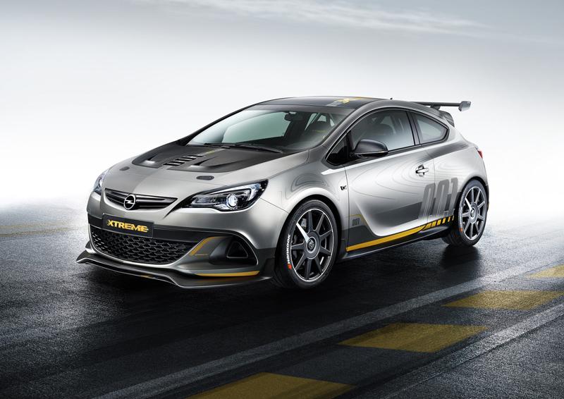 Foto Perfil Opel Astra Opc Xtreme Dos Volumenes 2014