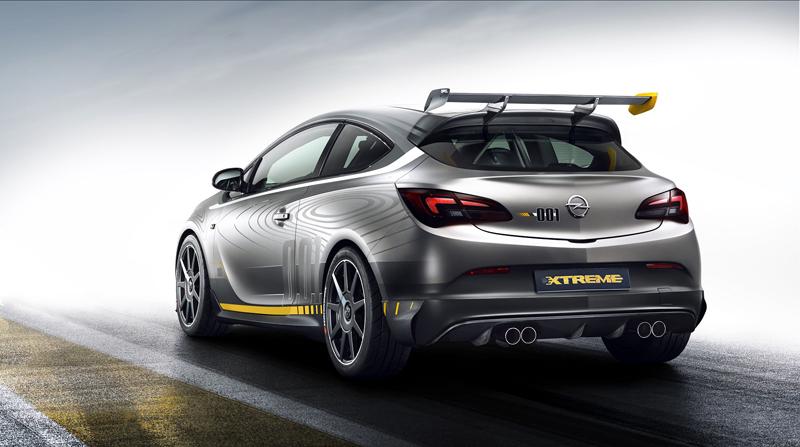 Foto Trasera Opel Astra Opc Xtreme Dos Volumenes 2014