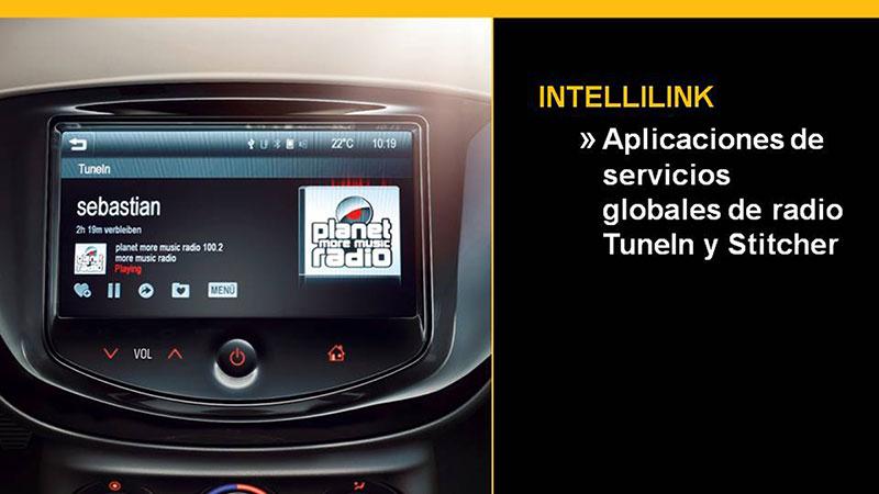 sistema Intellilink en el Opel Corsa