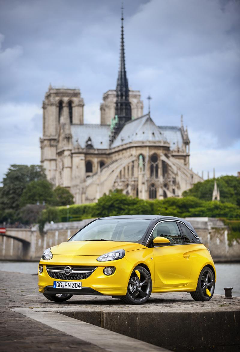 Foto Exteriores Opel Adam Dos Volumenes 2012