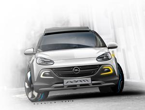 Foto Delantera Opel Adam-rocks Suv Todocamino 2013