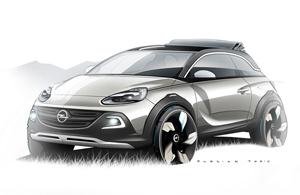 Foto Perfil Opel Adam-rocks Suv Todocamino 2013