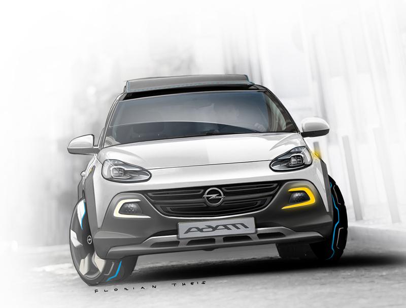 Foto Delantera Opel Adam Rocks Suv Todocamino 2013