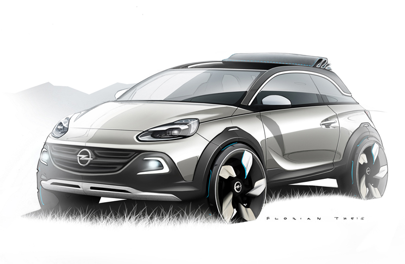 Opel Adam Rocks 2013