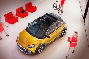 Foto Exteriores (3) Opel Adam-rocks Suv Todocamino 2014