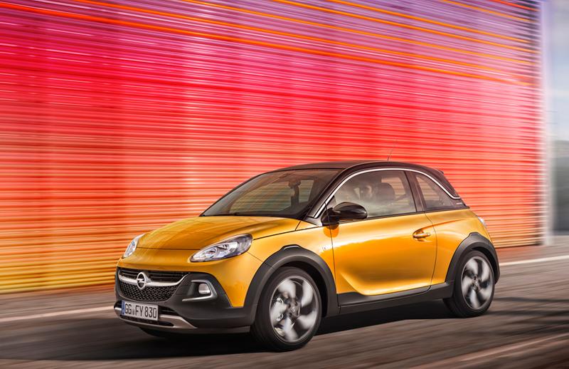 Foto Exteriores Opel Adam Rocks Suv Todocamino 2014