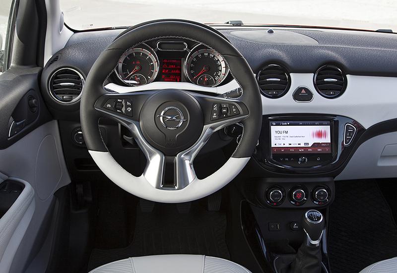 Foto Interior (14) Opel Adam-rocks Suv Todocamino 2014