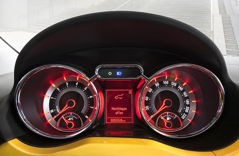 Foto Interior Opel Adam-rocks Suv Todocamino 2014