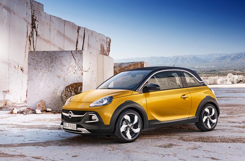 Foto Lateral Opel Adam Rocks Suv Todocamino 2014