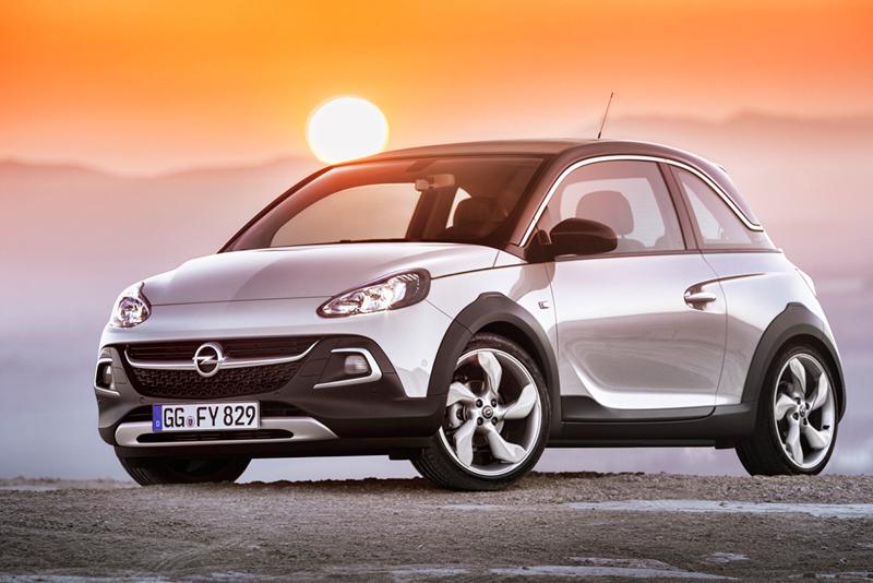 Foto Perfil Opel Adam Rocks Suv Todocamino 2014