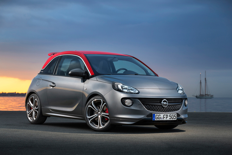 Opel Adam S en el Salón de París 2014