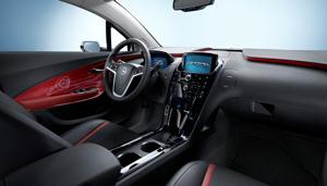 Opel Ampera interiores