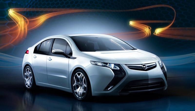 Foto Exteriores Opel Ampera Sedan 2010