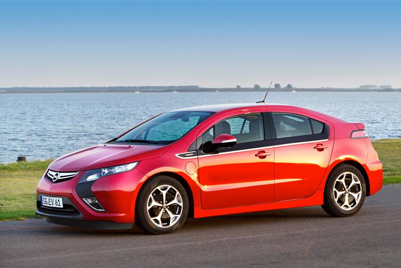 Foto Exteriores19 Opel Ampera Sedan 2010