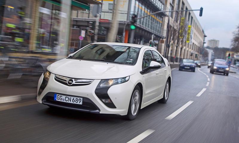 Foto Exteriores36 Opel Ampera Sedan 2010