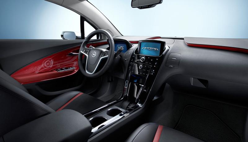 Foto Interiores Opel Ampera Sedan 2010