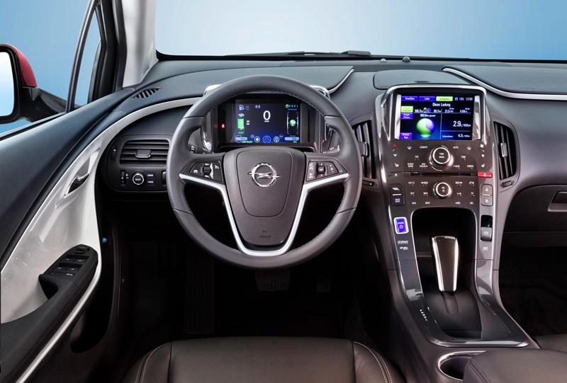 Foto Interiores3 Opel Ampera Sedan 2010