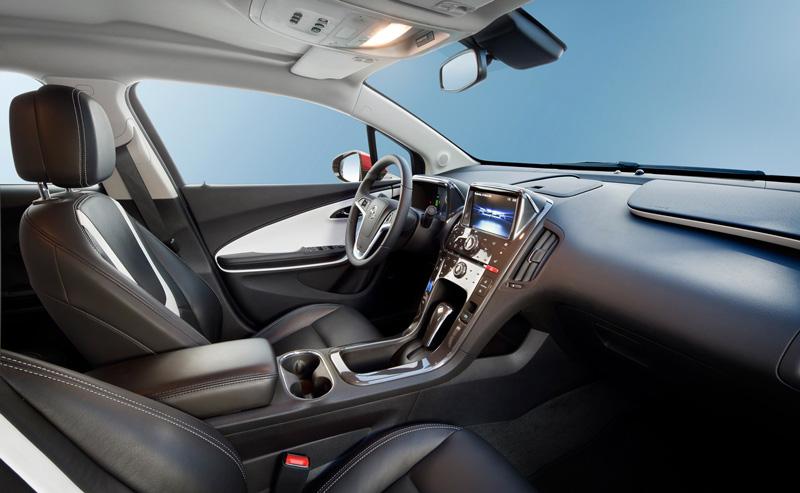 Foto Interiores4 Opel Ampera Sedan 2010