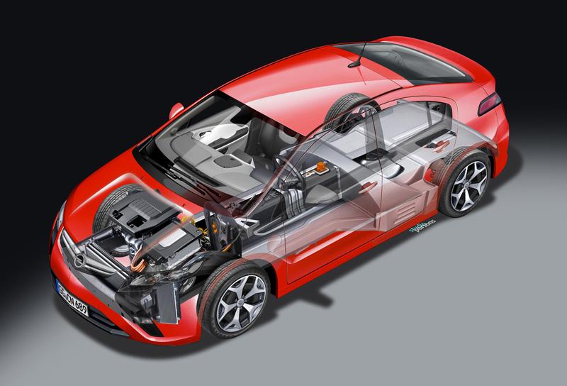 Foto Tecnicas02 Opel Ampera Sedan 2010