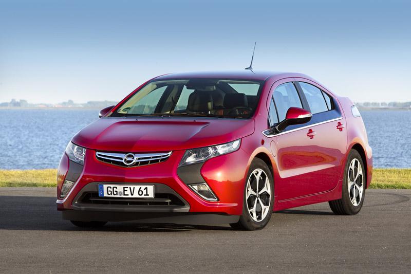 Foto Delantera Opel Ampera Sedan