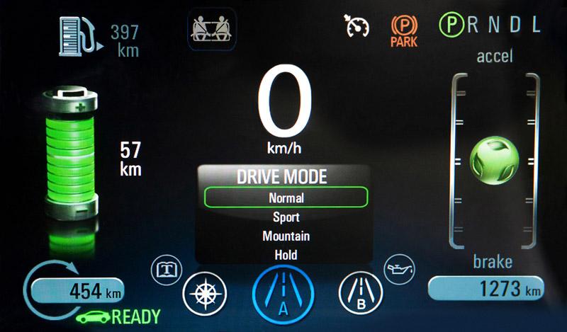 Foto Detalles Opel Ampera Sedan