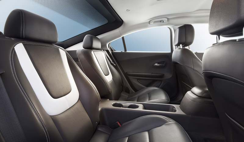 Foto Interiores Opel Ampera Sedan