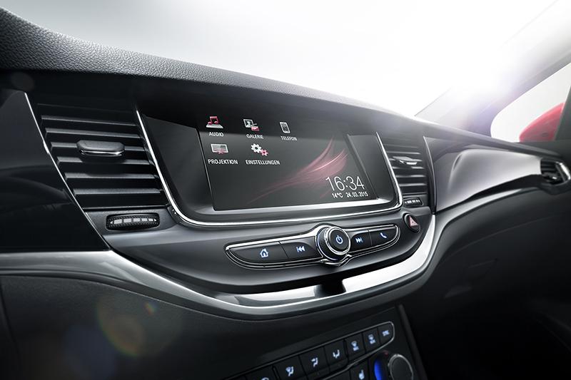 Opel Astra salpicadero