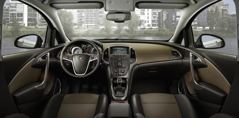 Foto Interiores-(3) Opel Astra-st Familiar 2010