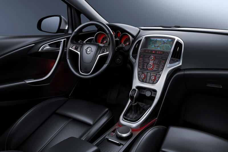 Foto Interiores-(5) Opel Astra-st Familiar 2010