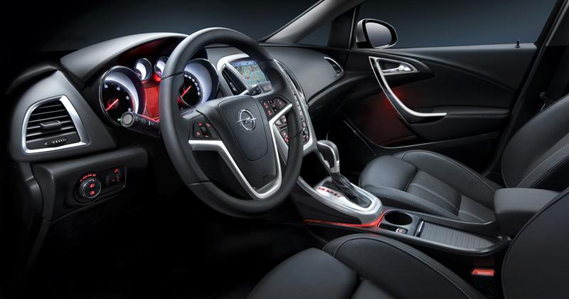 Foto Interiores Opel Astra St Familiar 2010
