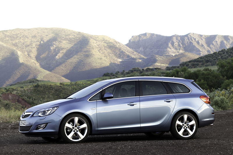 Foto Perfil Opel Astra St Familiar 2010