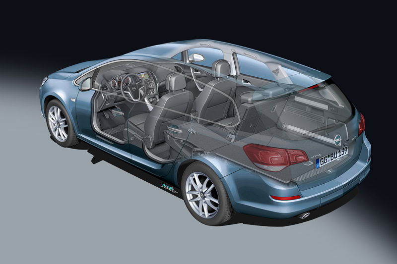 Foto Tecnicas-(10) Opel Astra-st Familiar 2010