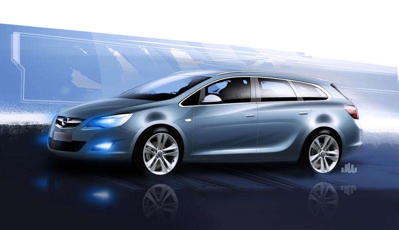 Foto Tecnicas-(14) Opel Astra-st Familiar 2010