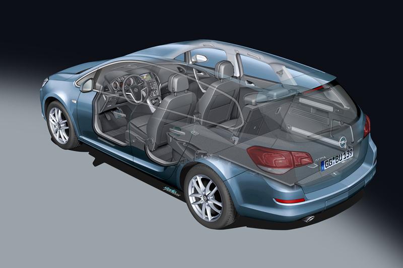 Foto Tecnicas-(2) Opel Astra-st Familiar 2010